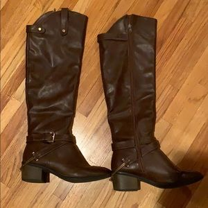 Lightly worn riding boots